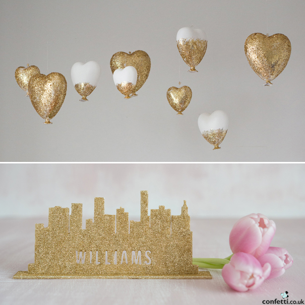 Gold Glitter | Confetti.co.uk