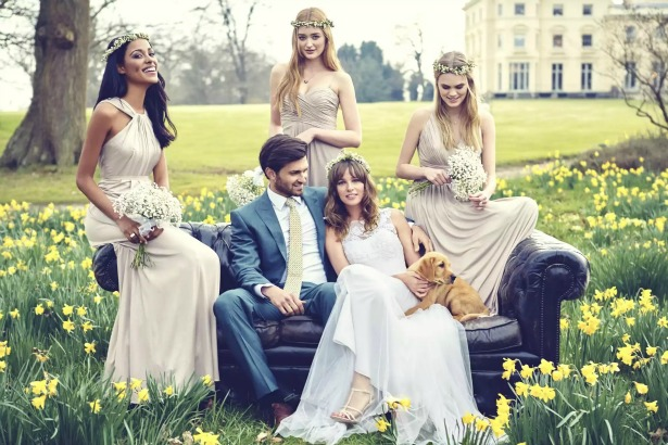 Kelsey Rose Bohemian Inspired Bridesmaid Dresses | Confetti.co.uk