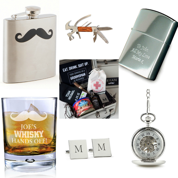 The perfect suplly list to propose to your groomsmen with | Confetti.co.uk