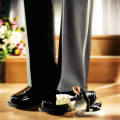 Shoe shine cake topper | Confetti.co.uk