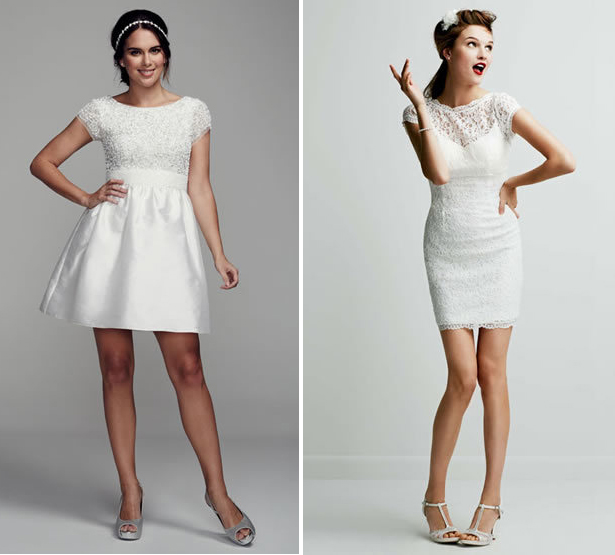2016 Bridalwear Trends: The Mini Wedding Dress - Confetti.co.uk