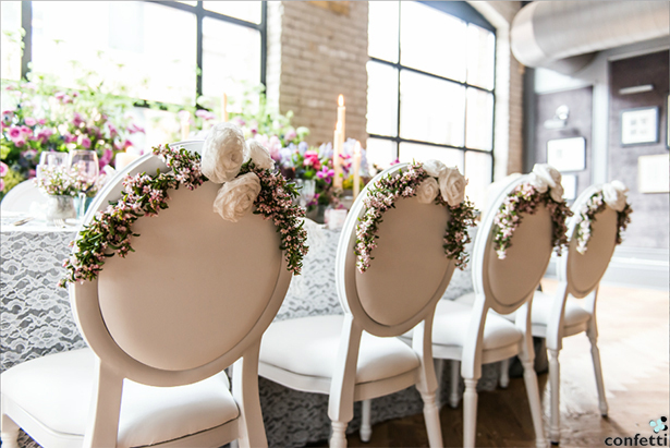 Vintage Wedding Reception | Confetti.co.uk