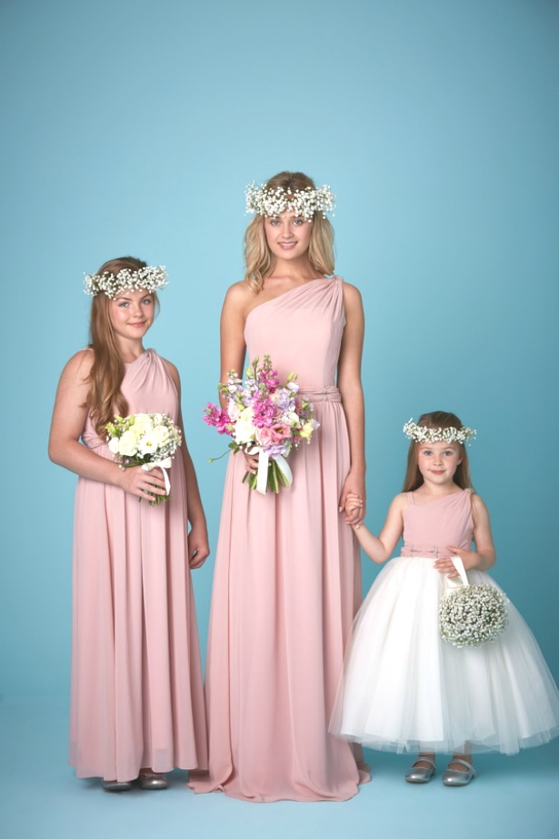 Bohemian Inspired Bridesmaid Dresses by Amanda Wyatt | Confetti.co.uk
