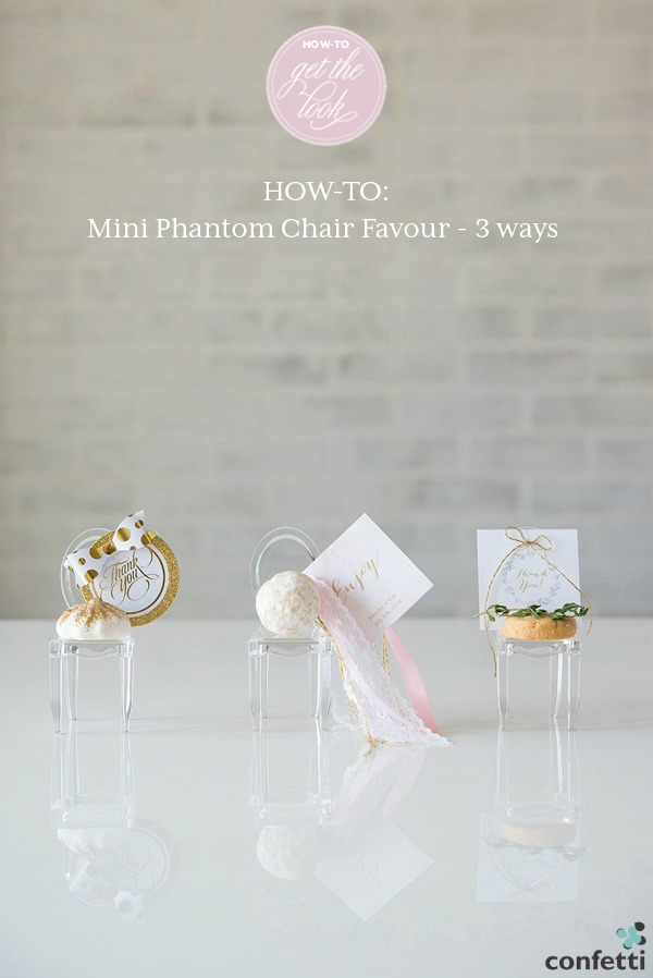 HOW TO: DIY Mini Phantom Chair Favours | Confetti.co.uk