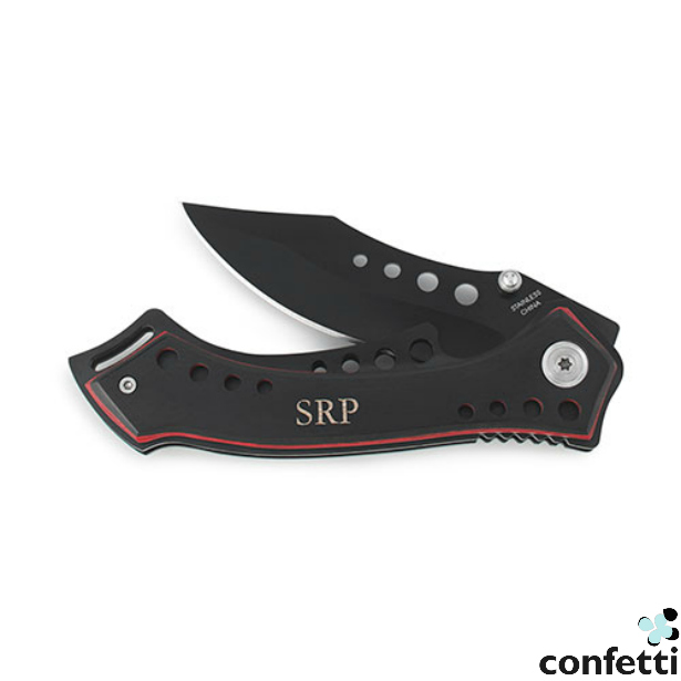 Black Rugged Knife | Confetti.co.uk