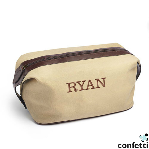 Rugged Canvas Dopp Kit | Confetti.co.uk