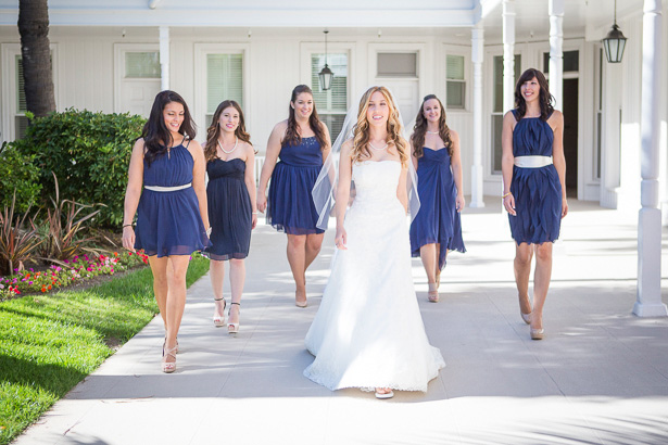 Navy Blue Bridesmaid Dresses | Confetti.co.uk