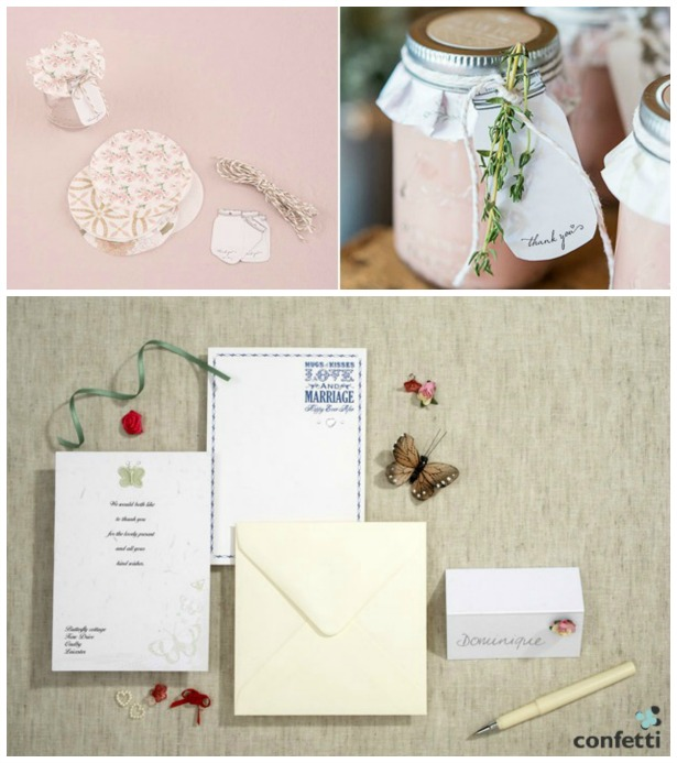 DIY favours and invitations | Confetti.co.uk