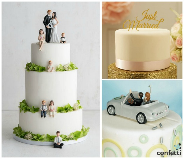 Personalised cake toppers | Confetti.co.uk