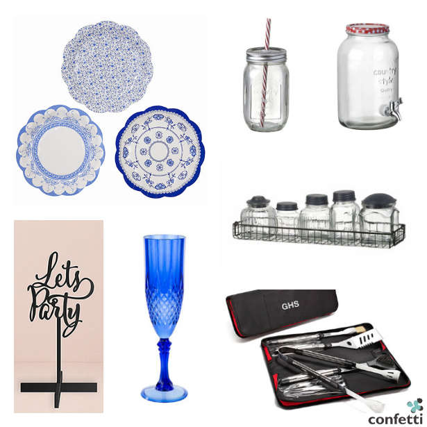 Everything you'll need for a last minute barbecue when the British weather agrees   Confetti.co.uk