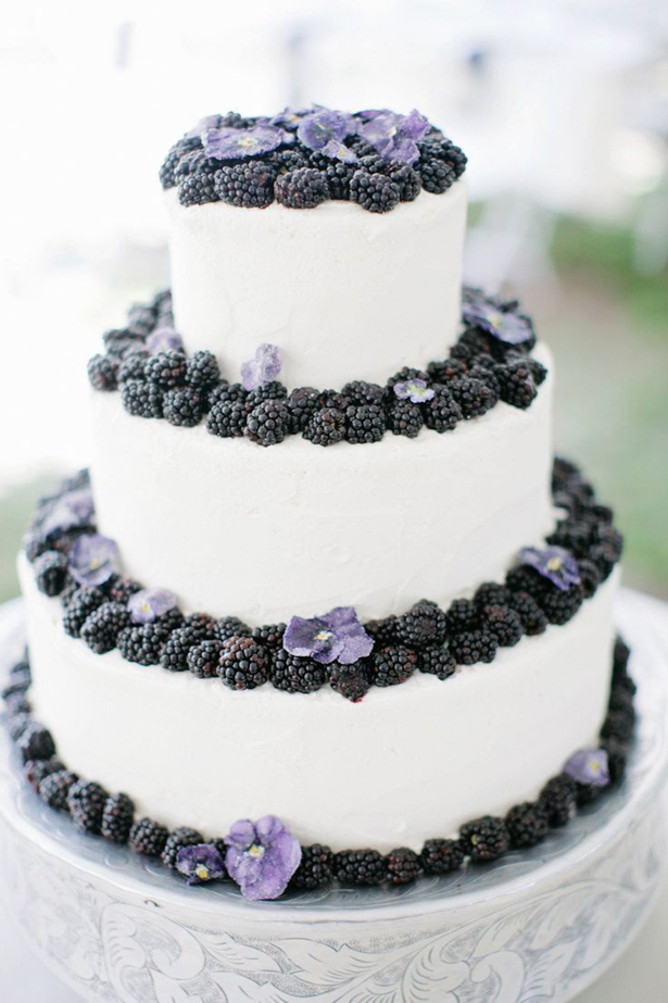 Berries Wedding Cake | Confetti.co.uk