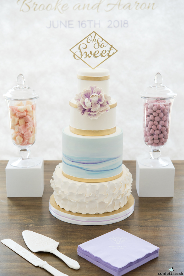 Pastel Wedding Cake | Confetti.co.uk