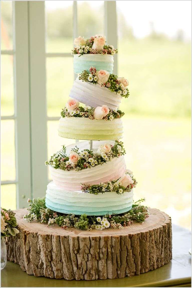 Tiered Wedding Cake | Confetti.co.uk