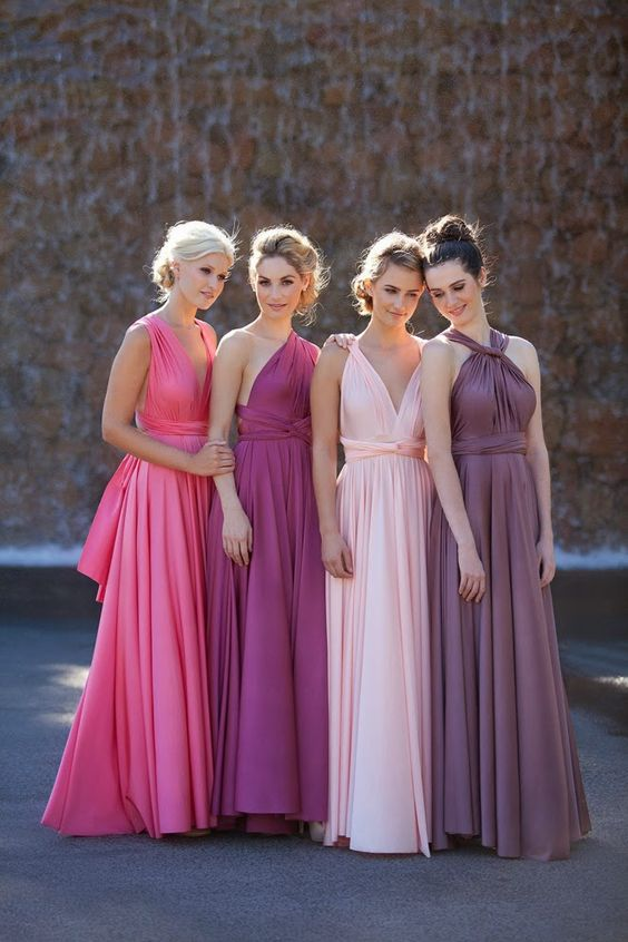 Blushing Bridesmaids - Confetti.co.uk