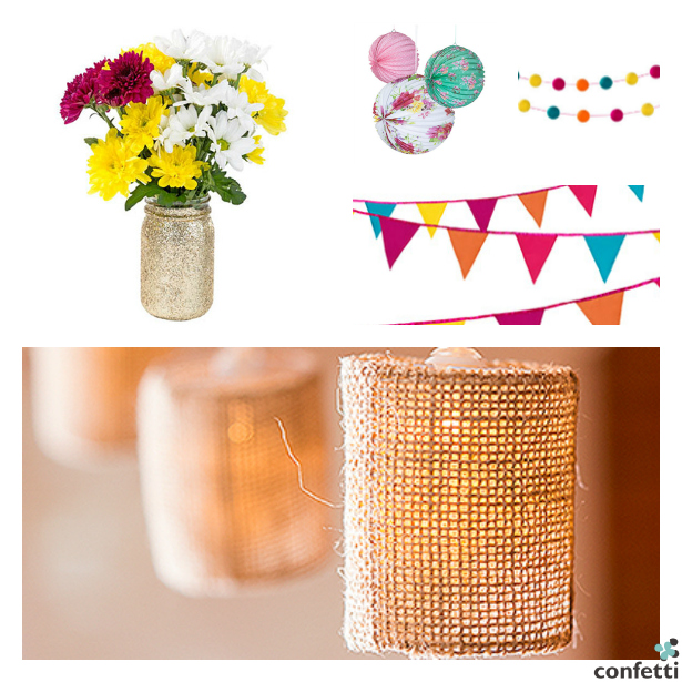Barbecue ready decor from Confetti.co.uk