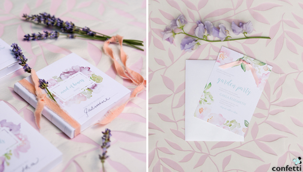 Flower Wedding Stationery | Confetti.co.uk