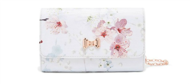 Janice oriental blossom evening bag by Ted Baker   Confetti.co.uk