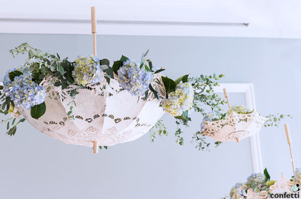 Hanging Parasols | Confetti.co.uk