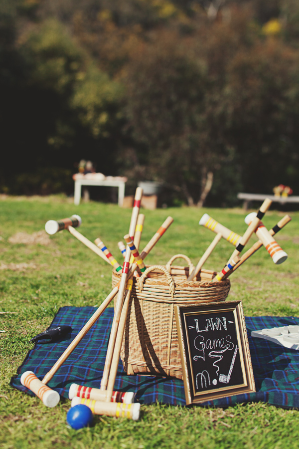 Croquet gear for a vintage wedding | Confetti.co.uk