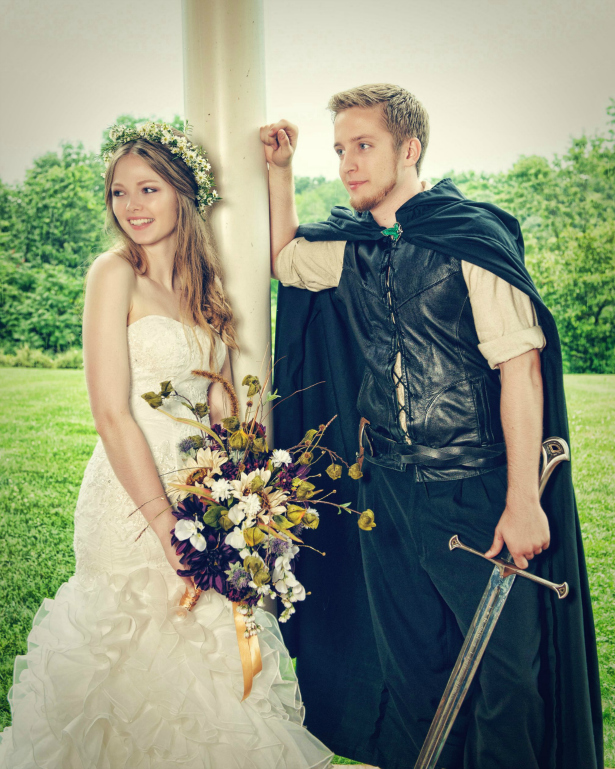 Lord of The Rings Wedding Theme Costumes | Confetti.co.uk