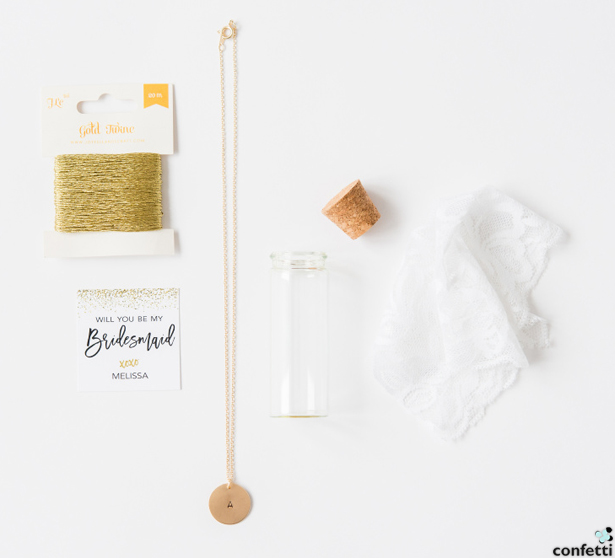 Message in a Bottle What You'll Need | Confetti.co.uk