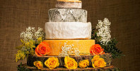 Cool Rustic Wedding Cakes