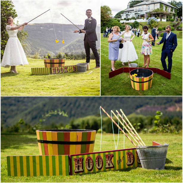 Hook a duck entertainment for a vintage wedding | Confetti.co.uk