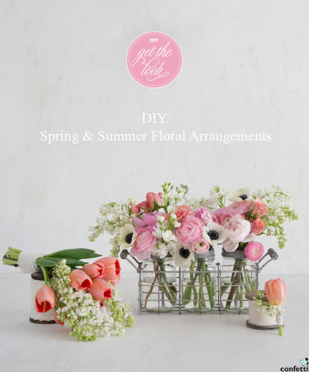 Spring and Summer Floral Arrangements | Confetti.co.uk