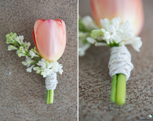 Summer Buttonhole | Confetti.co.uk