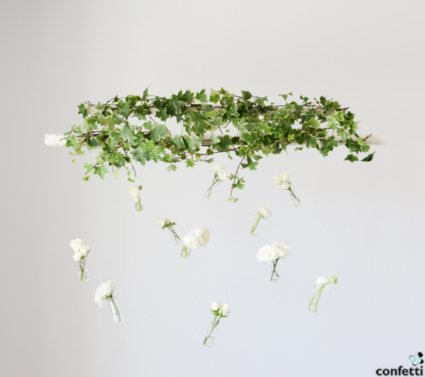 Hanging Flowers | Confetti.co.uk