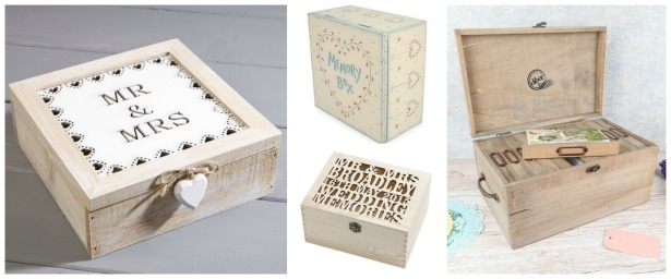 Wedding keepsake boxes | Confetti.co.uk