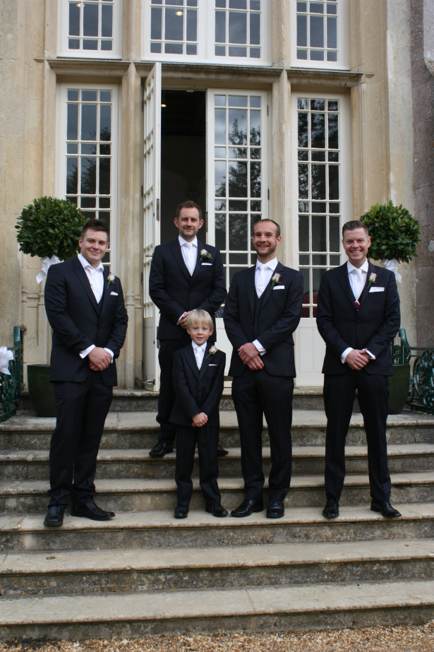 Groomsmen Suits from Stephen Bishop | Confetti.co.uk