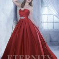 Red Wedding Dress by Eternity Bride style no. D5221 | Confetti.co.uk