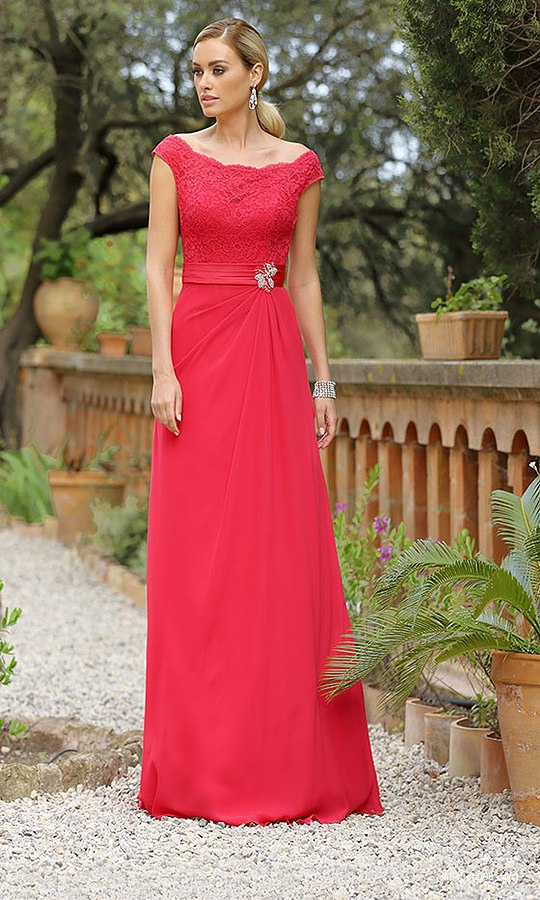 Red Wedding Dress by Ladybird style 516105 | Confetti.co.uk