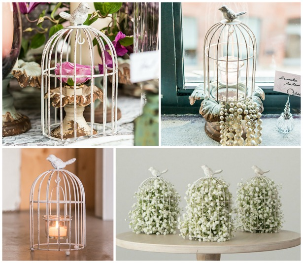 Birdcage wedding centrepiece ideas | Confetti.co.uk