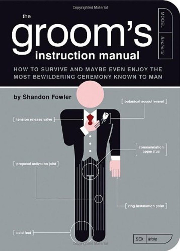 Grooms Instruction Manual | Confetti.co.uk
