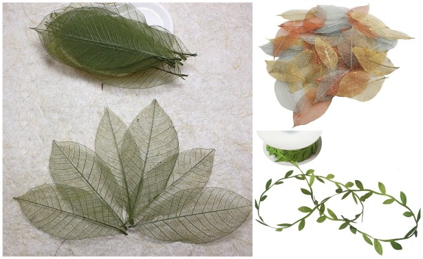 Leaf embellishments for DIY weddings | Confetti.co.uk