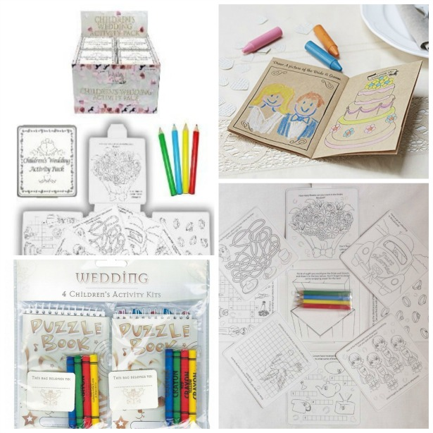 Children's activity packs for weddings | Confetti.co.uk