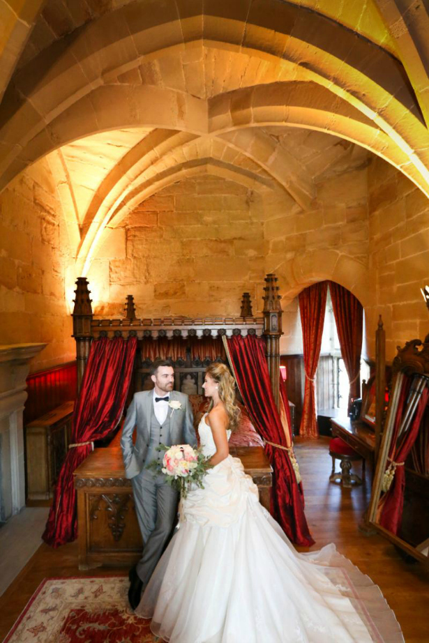 Rose Suite at Warwick Castle | Confetti.co.uk