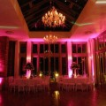 Pink lighting by Smile Events | Confetti.co.uk