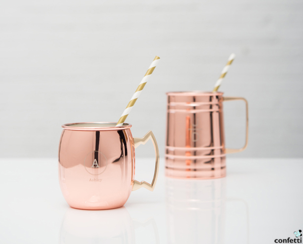 Rose Gold Copper Mugs and Steins | Confetti.co.uk