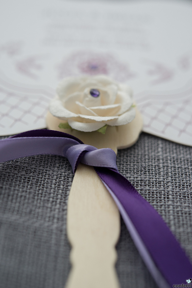 Purple Wedding | Confetti.co.uk