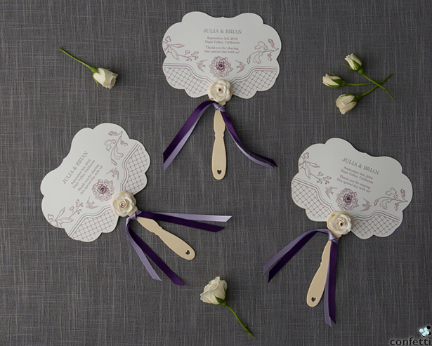 Royal Purple Wedding | Confetti.co.uk