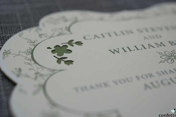 Green Wedding Stationery | Confetti.co.uk