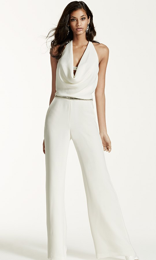 Alternative Bridalwear jumpsuit by David's Bridal | Confetti.co.uk