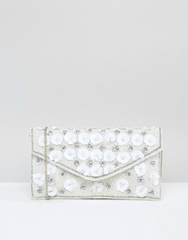 Flower Envelope Clutch Bag | Confetti.co.uk