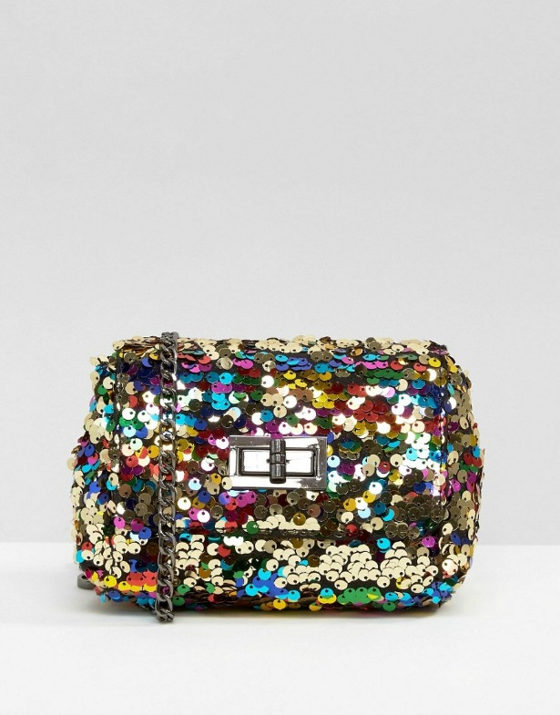 Skinnydip rainbow sequin bag | Confetti.co.uk