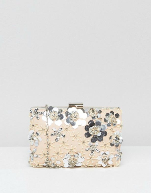 Chi Chi London 3D Floral Clutch Bag | Confetti.co.uk