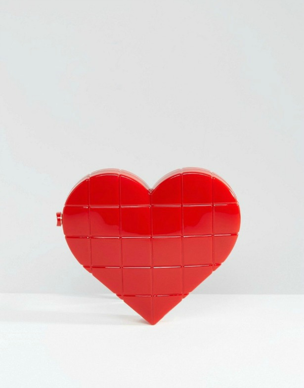 Heart Box Clutch Bag | Confetti.co.uk