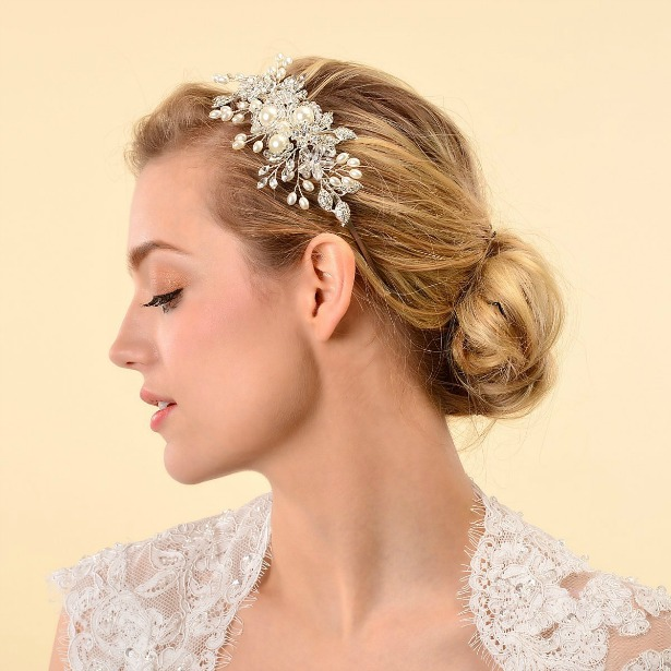 Remedios crystal bridal headband | Confetti.co.uk